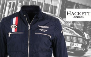 Blouson court Hackett London - Série Aston Martin collection 2012-2013