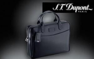 Le porte document DUPONT Ligne D: l'art du cuir, l'élégance à portée de main