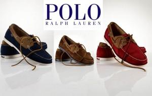 Chaussures bateau Ralph Lauren