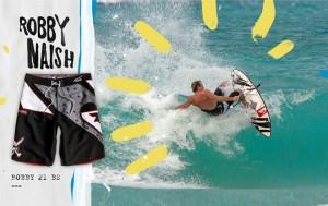 Boardshort Quiksilver Robby Naish signature