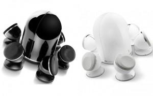 dome noir blanc