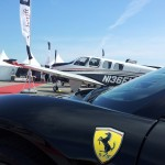 Visite du salon aviation Cannes 2013