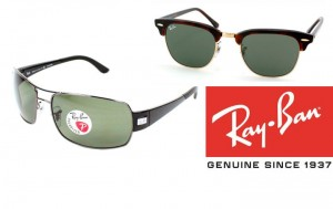 different modele de ray ban