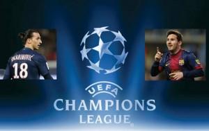 Rencontre huitieme de finale ligue des champions