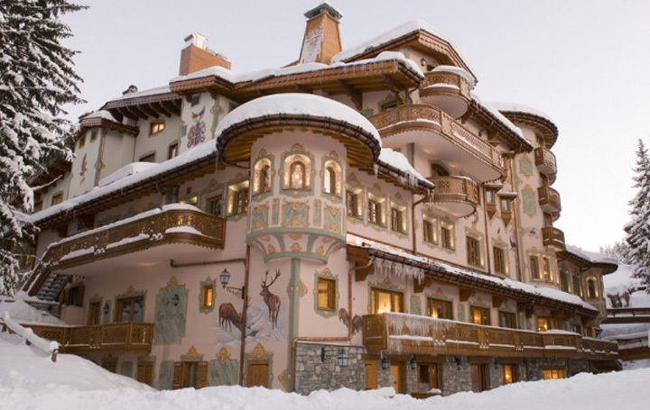 Hotel de luxe courchevel france for Hotel luxe france