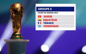 Groupe France Coupe du Monde 2014