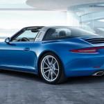 Nouvelle Porsche Targa 4