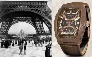 Montre CVSTOS « La Gustave Eiffel » : rencontre du glamour parisien et de la Haute Horlogerie Suisse