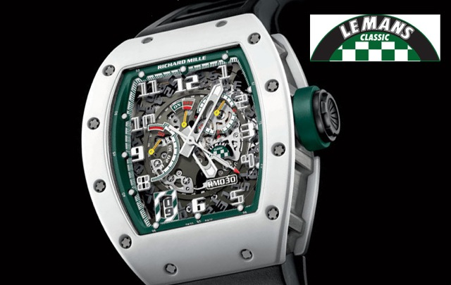 richard mille le mans classic 2014 montre luxe richard mille le mans. Black Bedroom Furniture Sets. Home Design Ideas