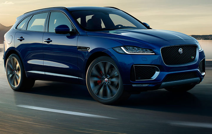 jaguar f pace le 1er suv de jaguar. Black Bedroom Furniture Sets. Home Design Ideas