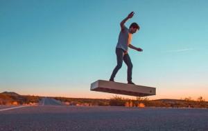 ArcaBoard la planche volante à Top Marques Monaco