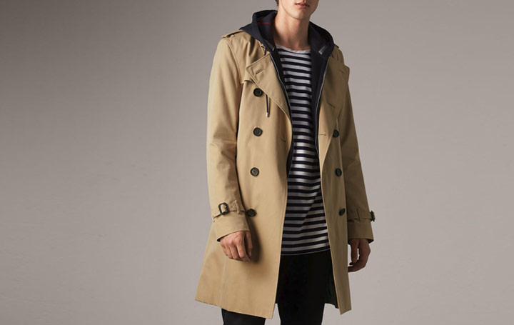 trench coat kensington burberry