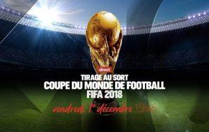 Infos sur le tirage au sort de la Coupe du Monde 2018