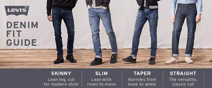 coupe jean levis homme