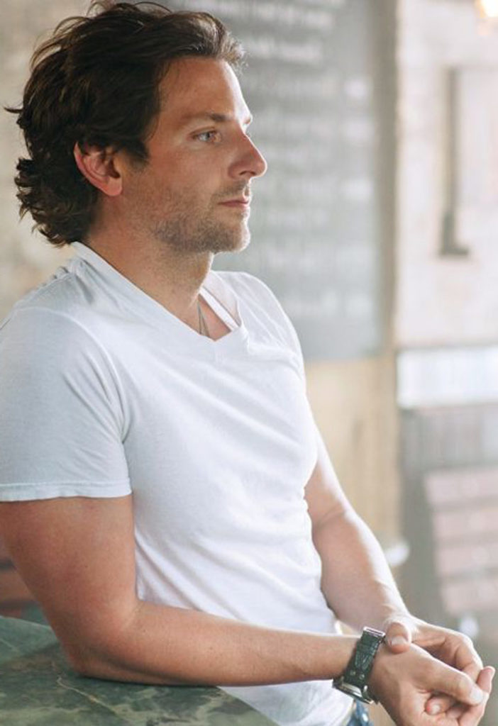 T-Shirt Blanc Bradley Cooper